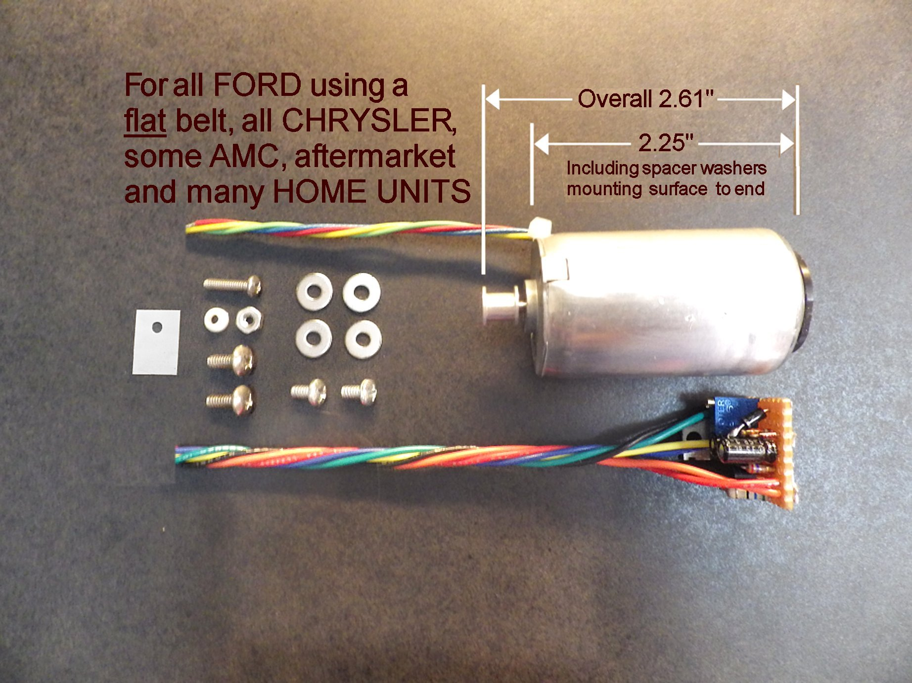 barry\u0027s 8 track repair new tape deck motors for 8 track machines